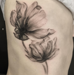 X ray flowers for X ray tattoo